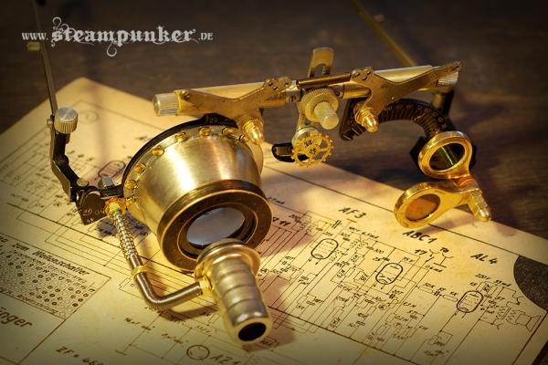steampunk goggles - mad scientist