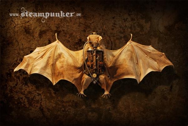 "Steampunk bat - ""Chiroptera Steampunkus"""