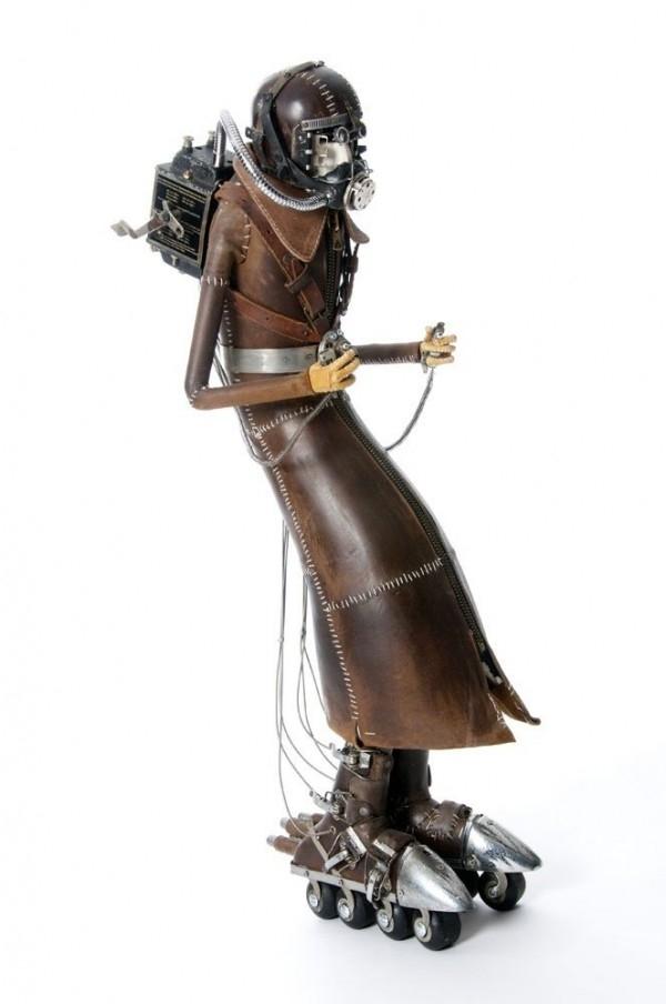 "Скульптуры в стиле ""Стимпанк"" Стефана Халлё (Фото 33)"