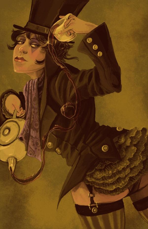 Работы художницы Robin E Kaplan (The Gorgonist) (Фото 11)