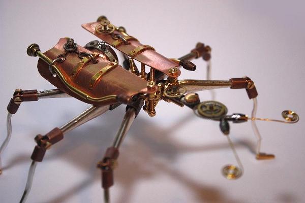 Арт-роботы дизайнера Тома Хардвиджа (Tom Hardwidge)