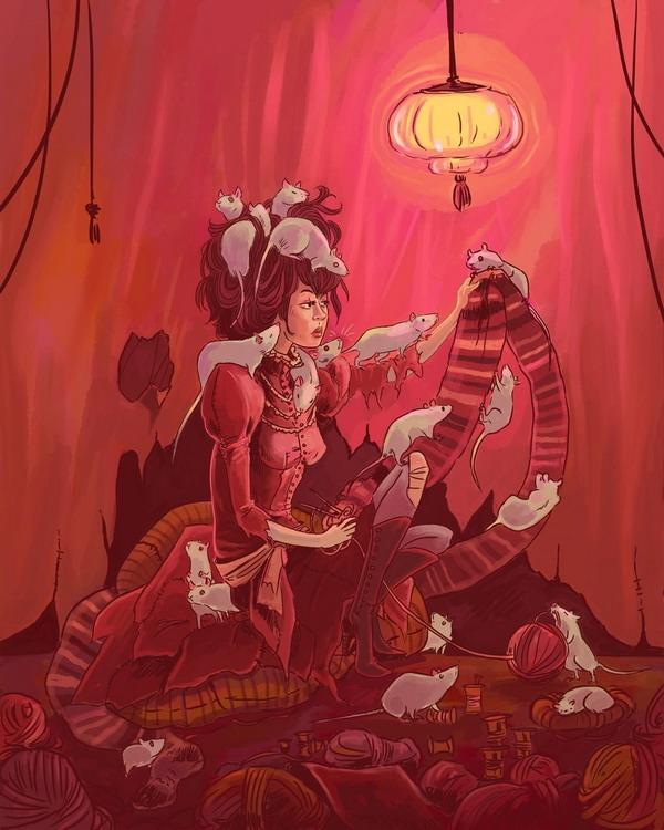 Работы художницы Robin E Kaplan (The Gorgonist) (Фото 17)