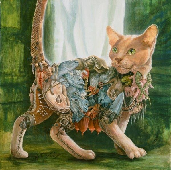 Хайди Тайллефер (Heidi Taillefer) - сюрреализм в деталях (Фото 5)