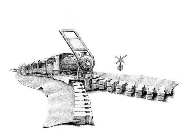 Забавные иллюстрации от Редмера Хекстры (Redmer Hoekstra)
