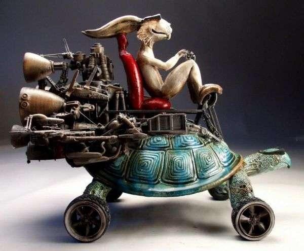 Скульптуры Митчелла Графтона (Mitchell Grafton)