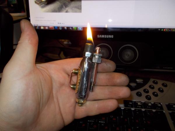 первая стим зажигалка. (Фото 2)