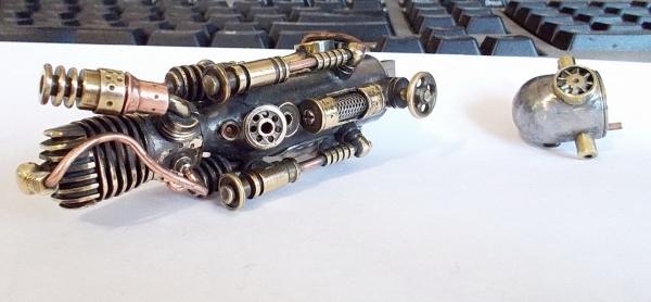 Мобильный дизельгенератор с паровой автоматикой (Фото 4)