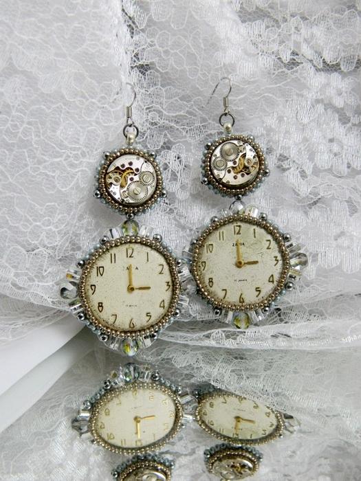 Мои украшения в стиле clockwork (Фото 25)