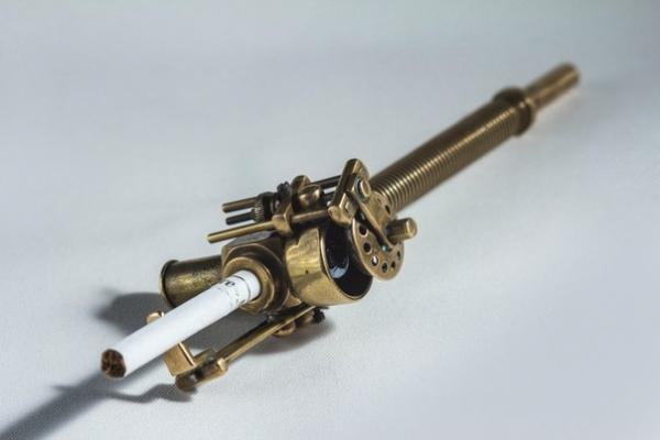 пиратская трубка-мундштук