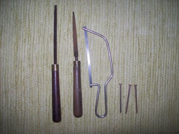 Самодельные декоративные штампы(печатки) для кожи.