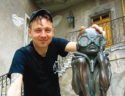 Кристофер Конте-скульптор или... ?
