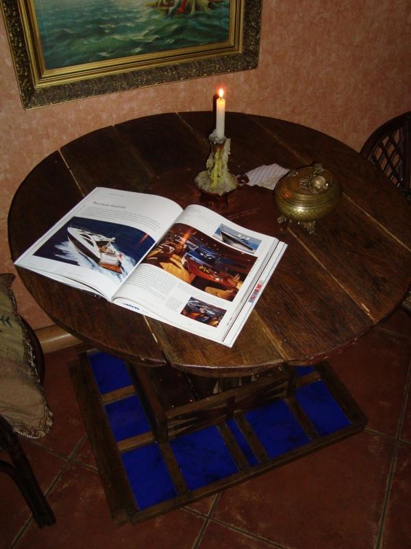 Ломберный стол (для игры в карты) дуб. масло. медь (Фото 4)