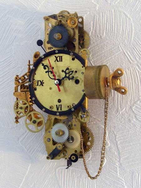 Часы из будильников