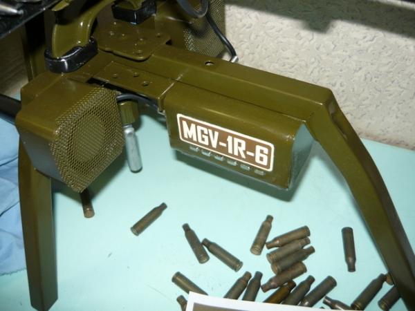Мясорубка-пулемёт (не совсем стимпанк) (Фото 8)