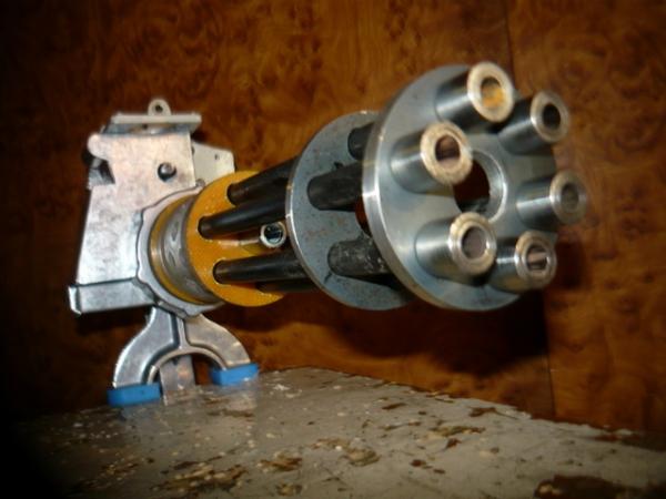 Мясорубка-пулемёт (не совсем стимпанк) (Фото 6)