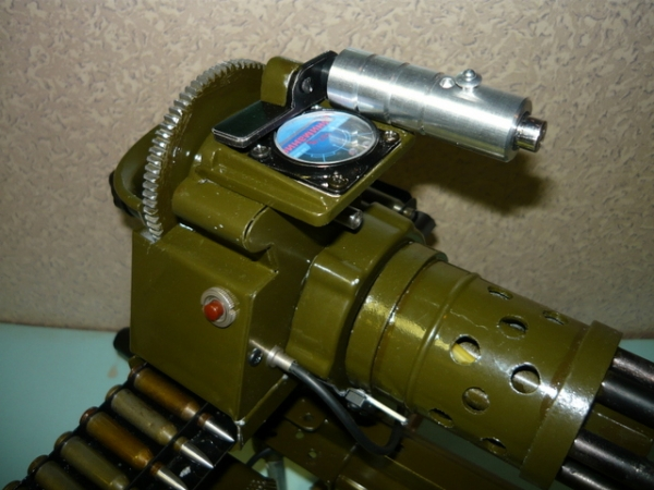 Мясорубка-пулемёт (не совсем стимпанк) (Фото 7)