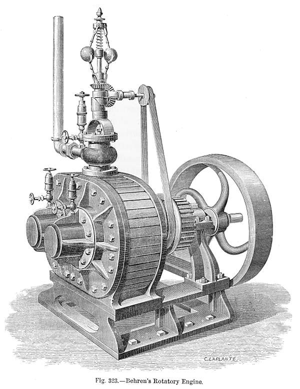 Роторные двигатели древности.