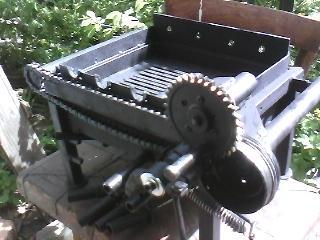 Механическая шашлычница
