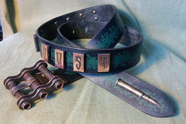 Ремень steam-байкера