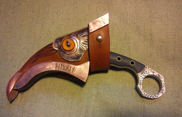 Ножны для керамбита сделать