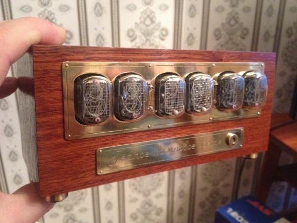 NIXIE часы под заказ для старого знакомого.