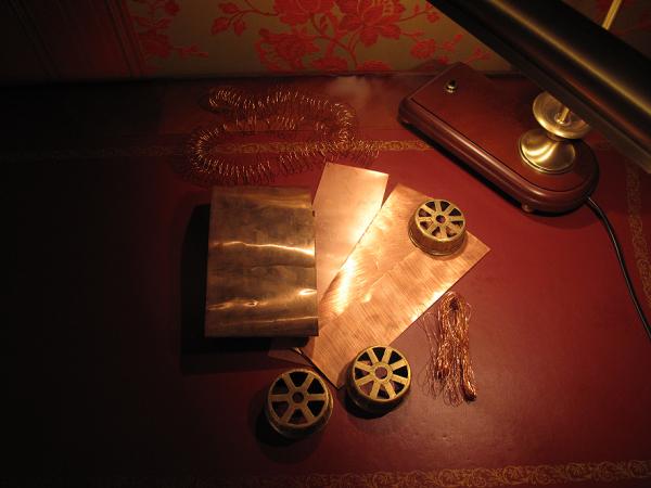 Немного расходных материалов для мастеров.