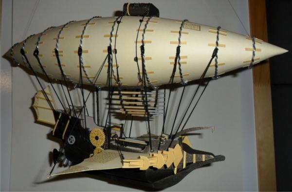 Бумажные летающие корабли