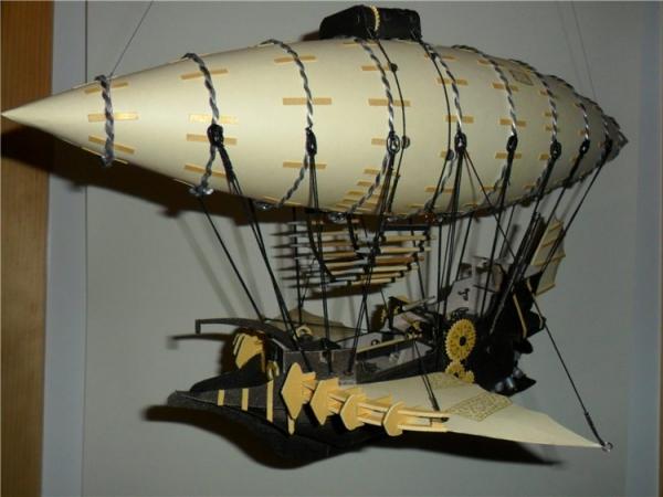 Бумажные летающие корабли (Фото 2)