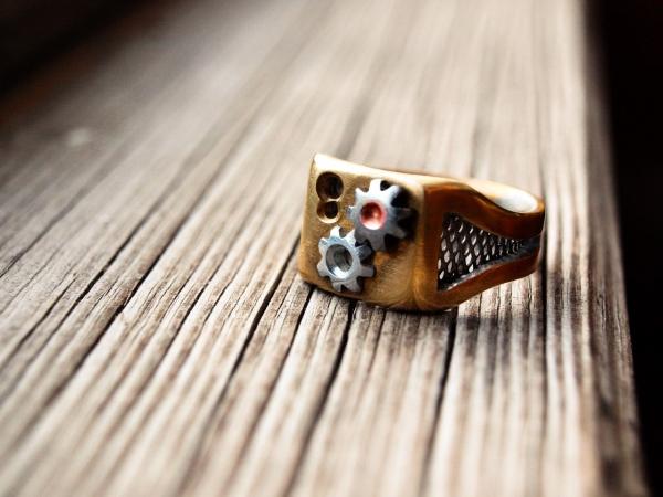 Перстень в подарок другу. (Фото 2)