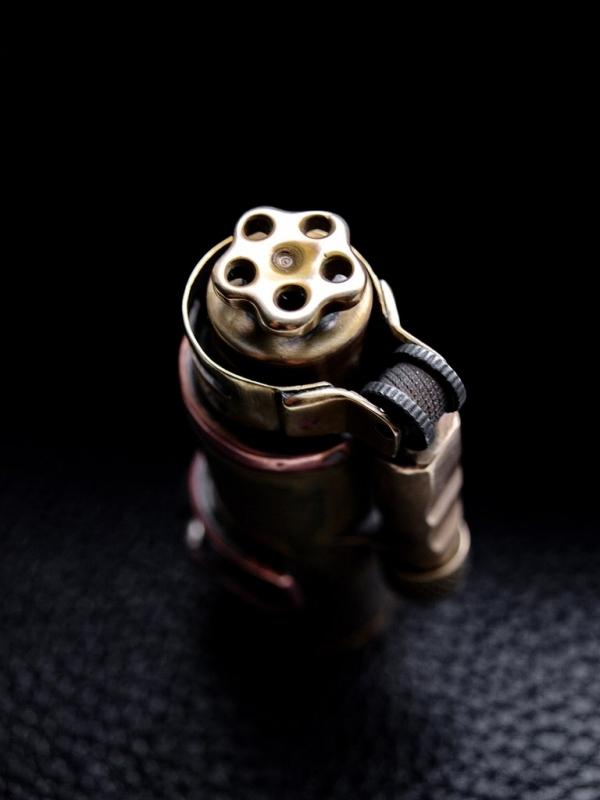 Первая зажигалка из гильзы 12 калибра