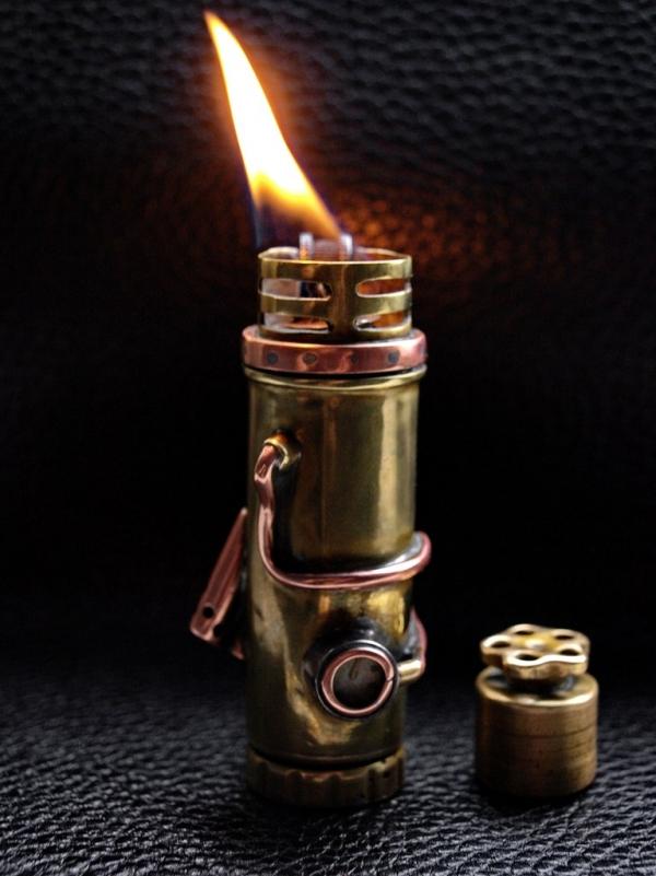 Зажигалка из гильзы 12 калибра