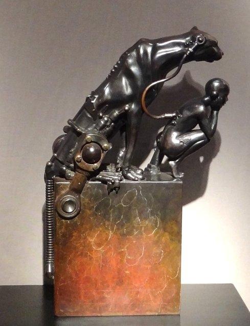 Стимпанк скульптуры от Пьера Материя (Pierre Matter). (Фото 8)
