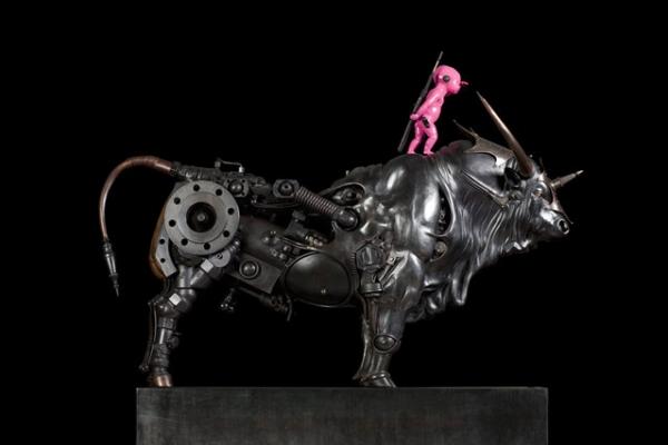 Стимпанк скульптуры от Пьера Материя (Pierre Matter). (Фото 5)