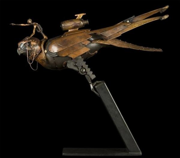 Стимпанк скульптуры от Пьера Материя (Pierre Matter). (Фото 7)