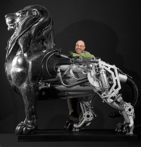 Стимпанк скульптуры от Пьера Материя (Pierre Matter).
