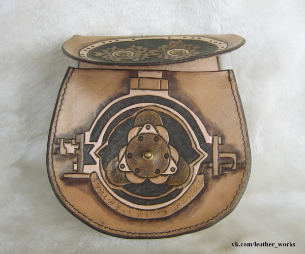 "Поясная сумка ""Паровая турбина"" (Фото 2)"