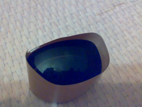 Создание оправы гогглов по форме имеющегося стекла. (Фото 4)
