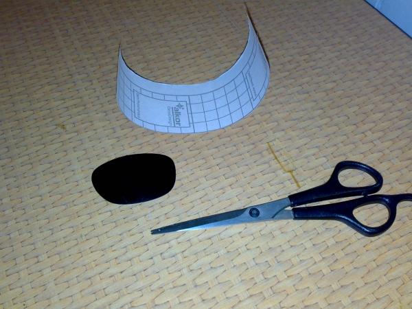 Создание оправы гогглов по форме имеющегося стекла. (Фото 2)