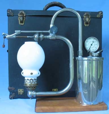 This is a salesmans demonstration kit of a Tures Mfg. Co.