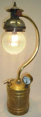 This lamp is stamped Lumiere Noel, a company located in Paris, France.