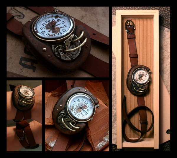 Стимпанковски часы / Steampunk watch