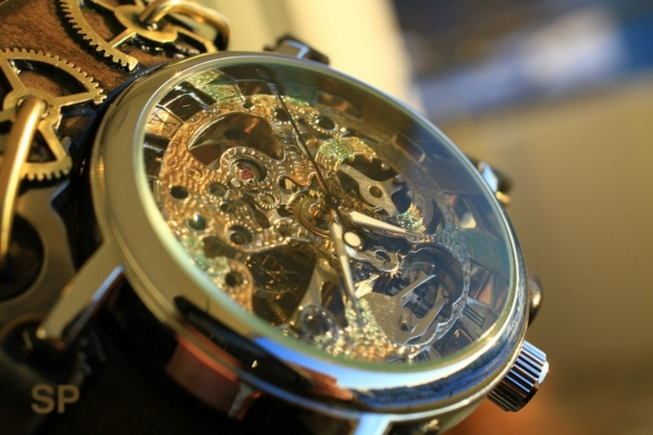 Стимпанковски часы / Steampunk watch (Фото 8)