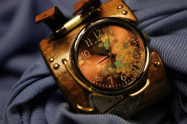 Стимпанковски часы / Steampunk watch (Фото 5)