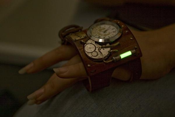 Стимпанковски часы / Steampunk watch (Фото 3)