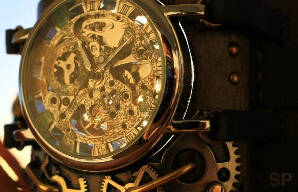Стимпанковски часы / Steampunk watch (Фото 2)