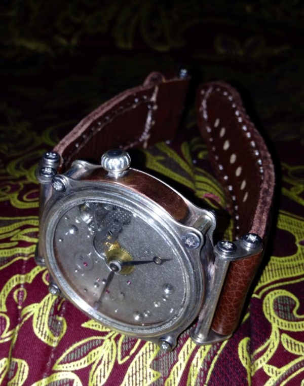 Часы - из карманных в наручные (Фото 15)