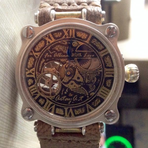 Часы - из карманных в наручные - 2