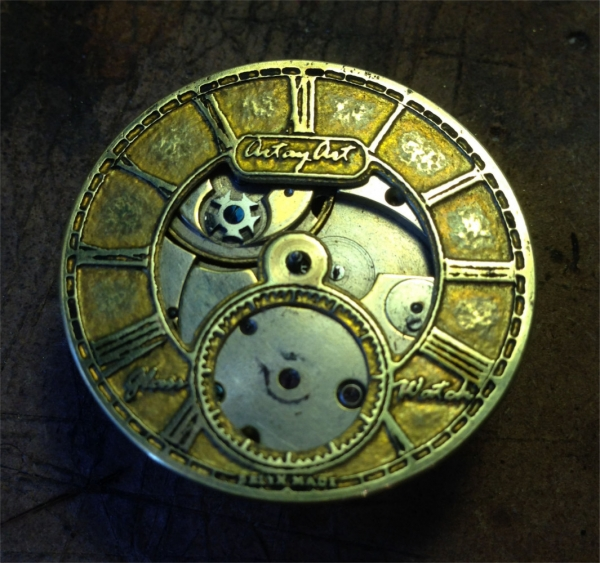 Часы - из карманных в наручные - 3 (Фото 13)