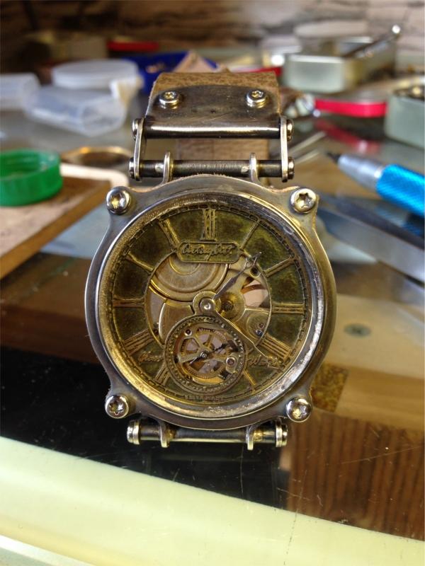 Часы - из карманных в наручные - 3 (Фото 23)