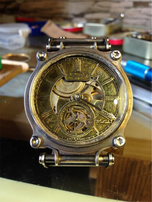Часы - из карманных в наручные - 3
